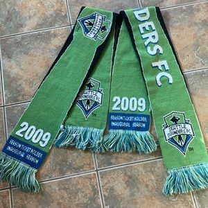 Seattle Sounders Collectible Scarves